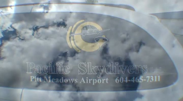 Video: Skydiver captures first jump experience