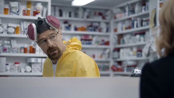 Video Breaking Bad Star Bryan Cranston Returns As Walter White In Super Bowl Esurance Commercial