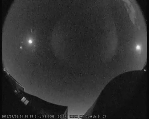 mystery of giant fireball lights up social media in northern ireland