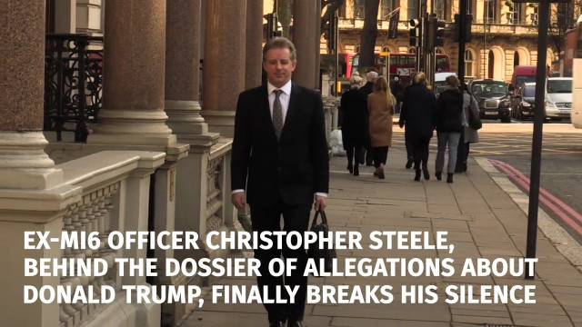 Image result for christopher steele and the dossier
