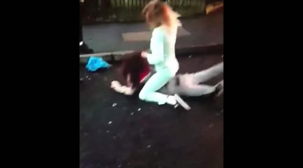 Watch: Brawl between women breaks out in west Belfast