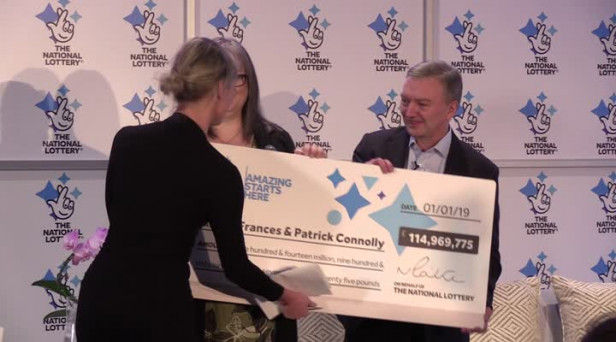 115m Euromillions Lottery Winners Named As Frances And Patrick