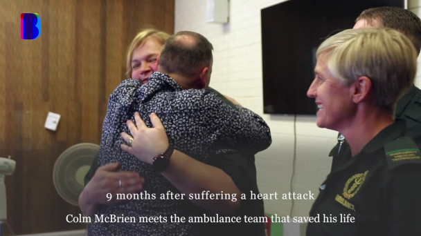Man meets woman who saved his life